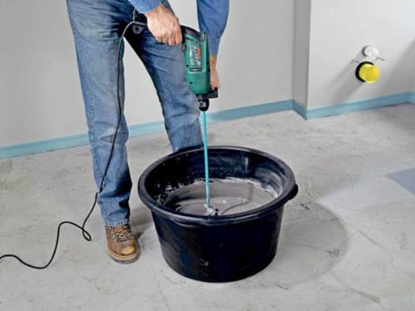 Как развести цемент для штукатурки