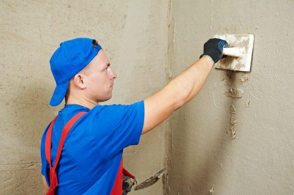 Особенности использования цементных штукатурок