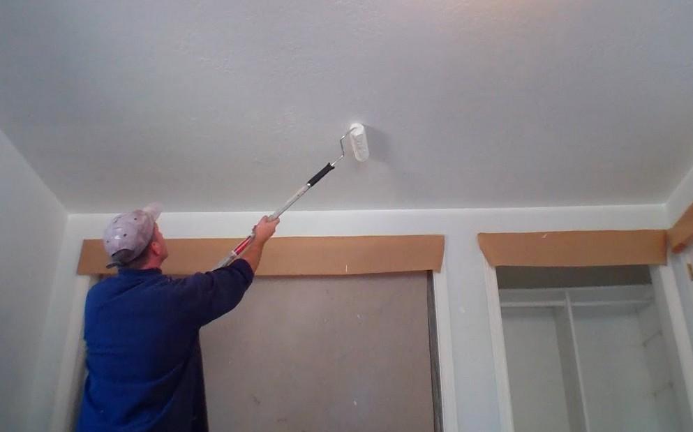Хорошая подготовка потолка - залог успешной и качественной отделки жидкими обоями