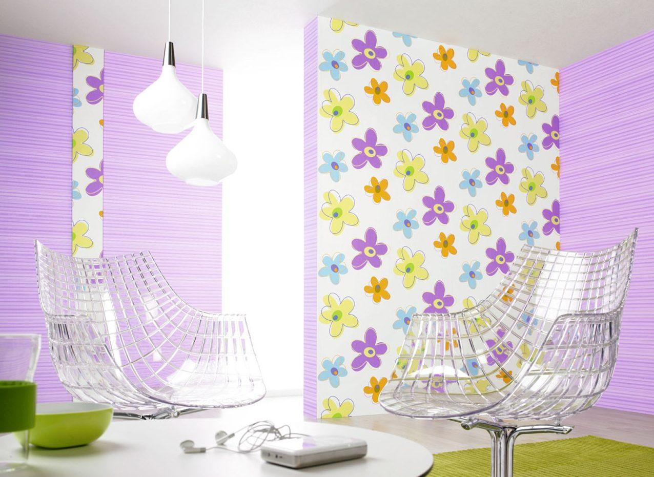 Стоит использовать 2-3 цвета в отделке комнаты