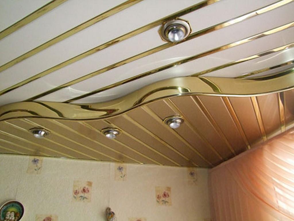 Металлические потолки на кухне наиболее долговечны