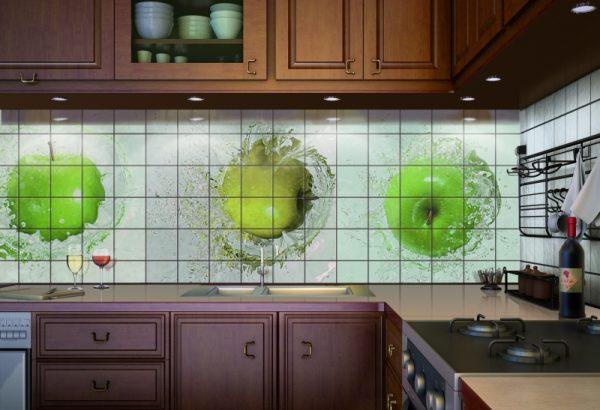 Плитка керамическая для стен на кухне