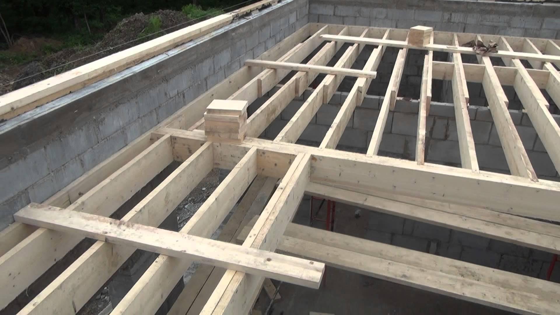 Монтаж деревянных перекрытий - важный этап в строительстве дома