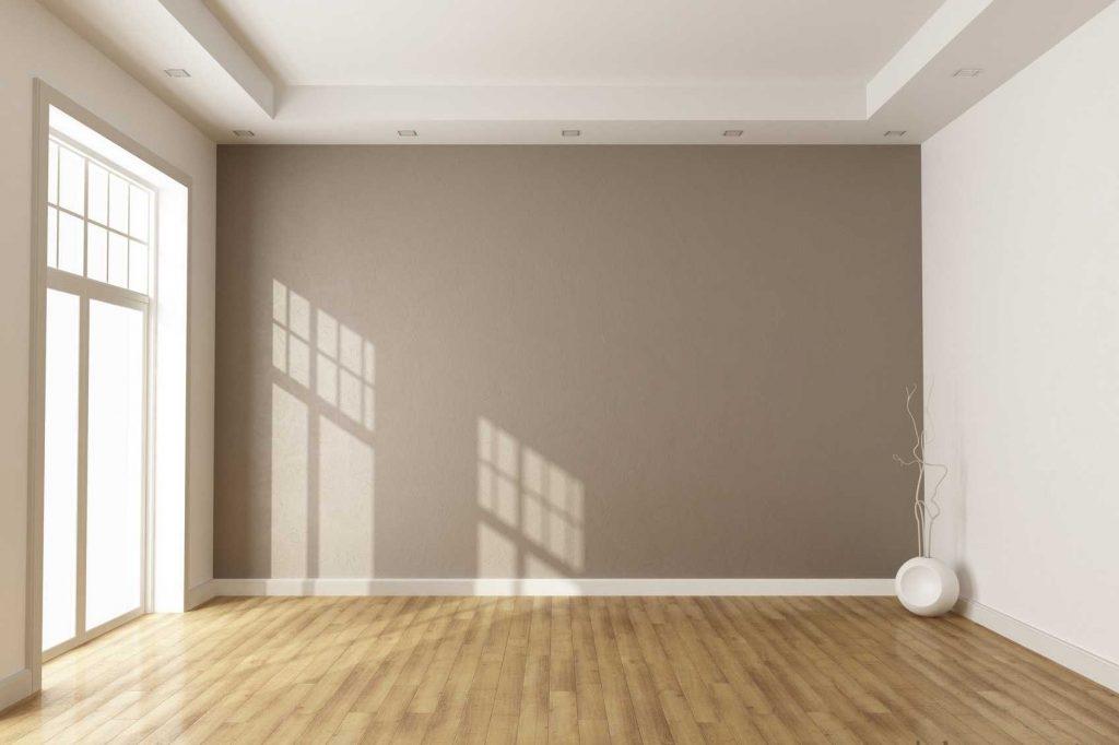 Потолок из гипсокартона требует качественной отделки
