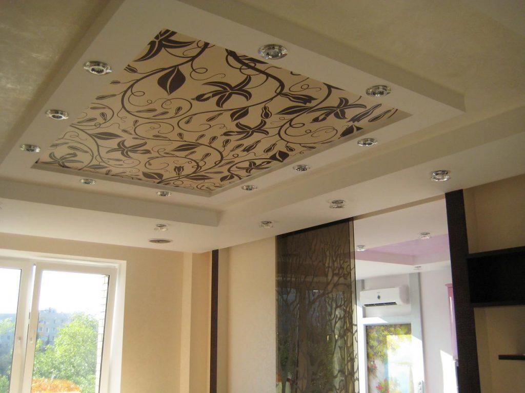 Тканевый потолок - современный способ отделки помещения