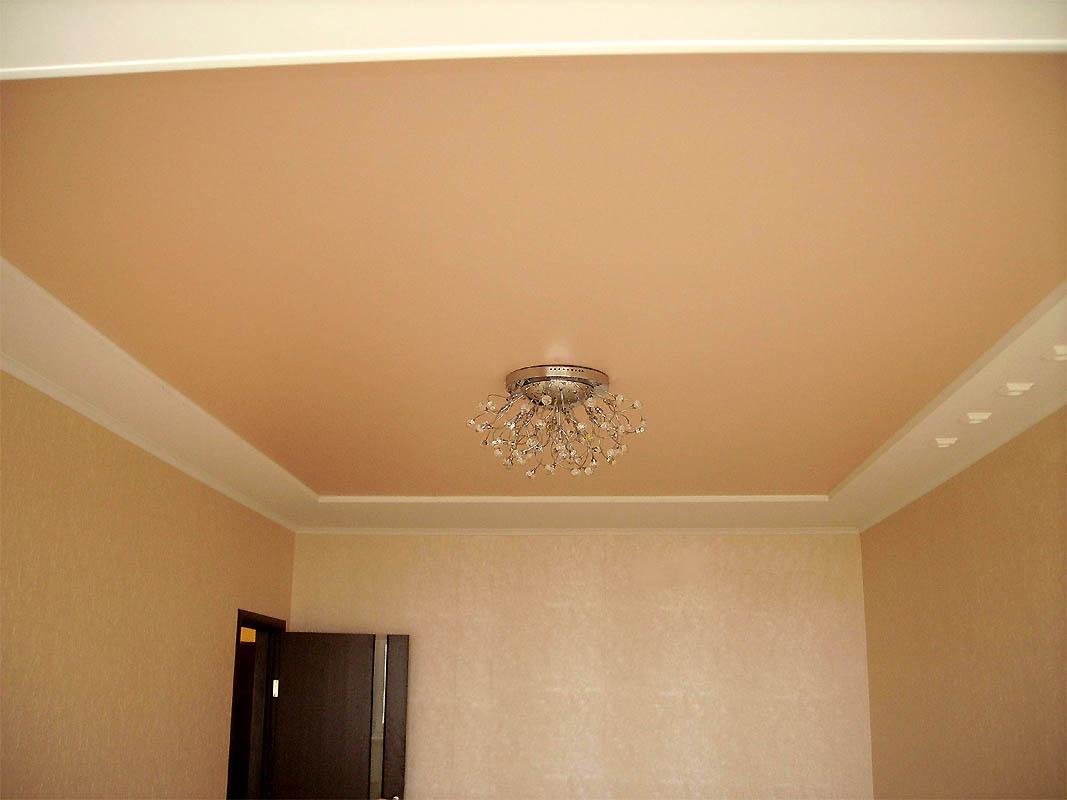 Матовый потолок ПВХ