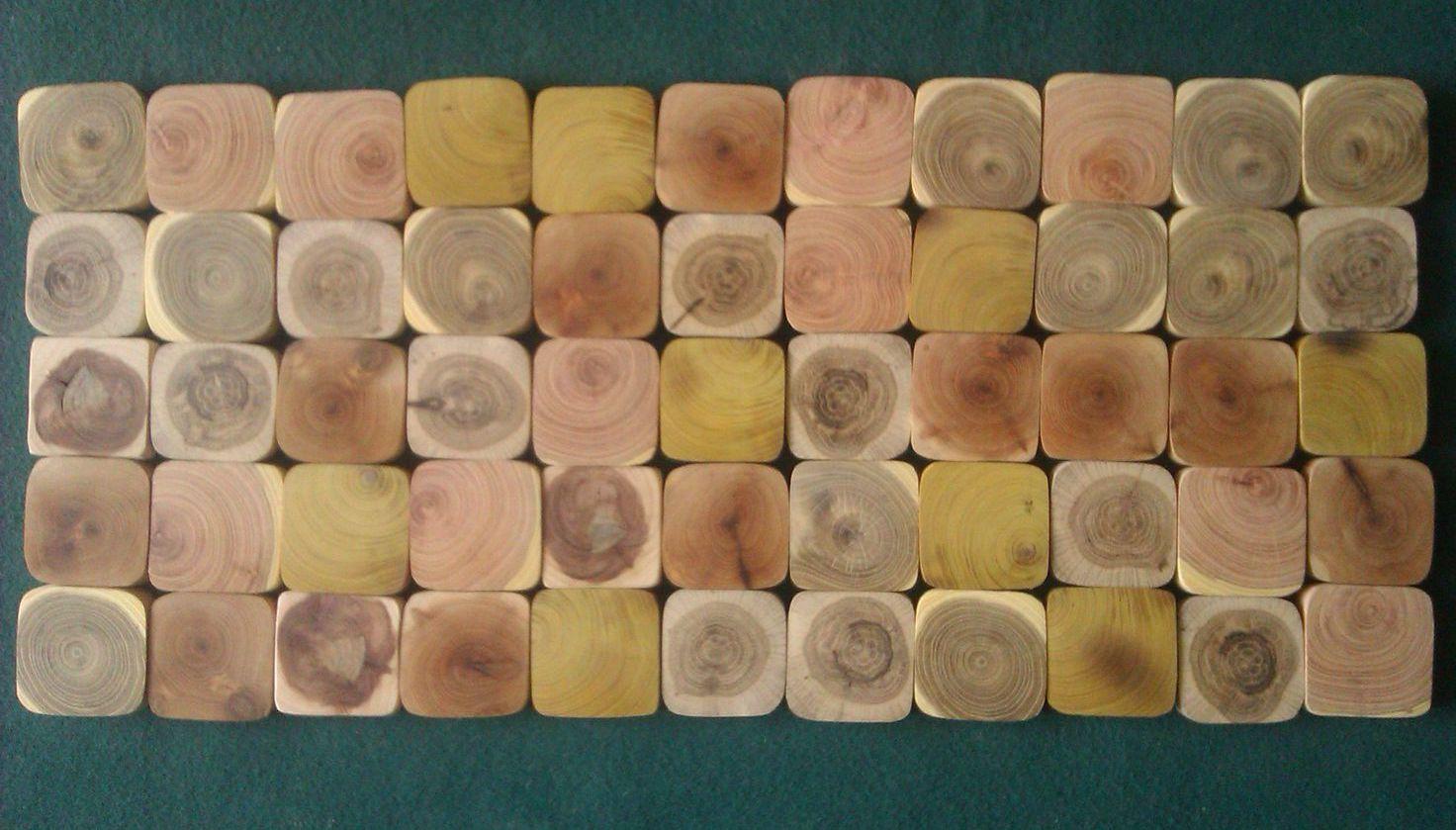 Абстракция из спилов дерева