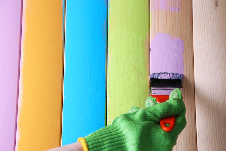 Акриловая краска для вагонки
