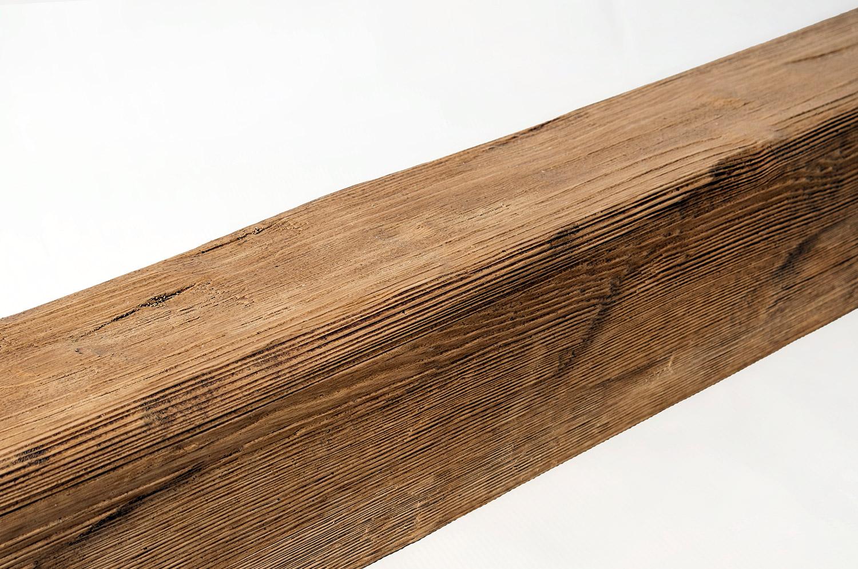 Брашированная балка для потолка
