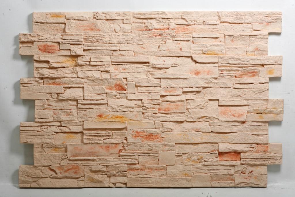 Отделать стены в доме можно при помощи панелей под камень