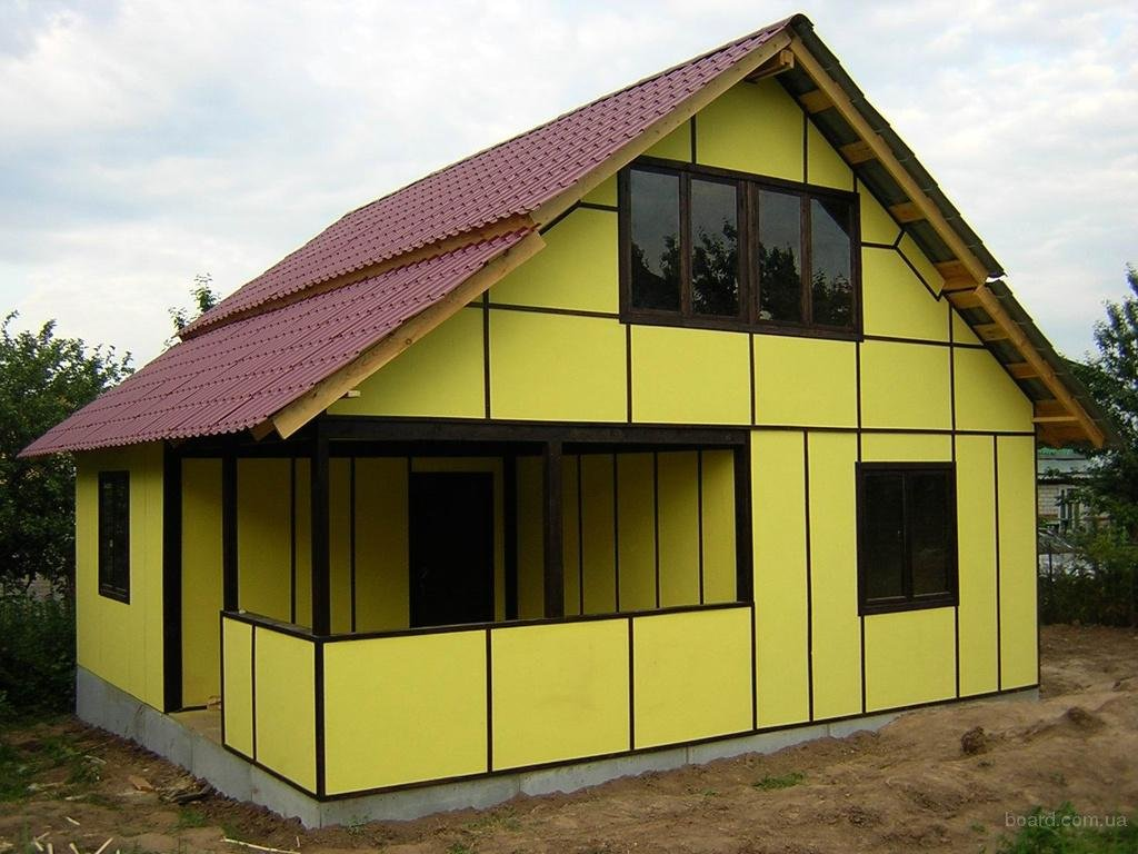 Отделка фасада - важная часть строительства дома