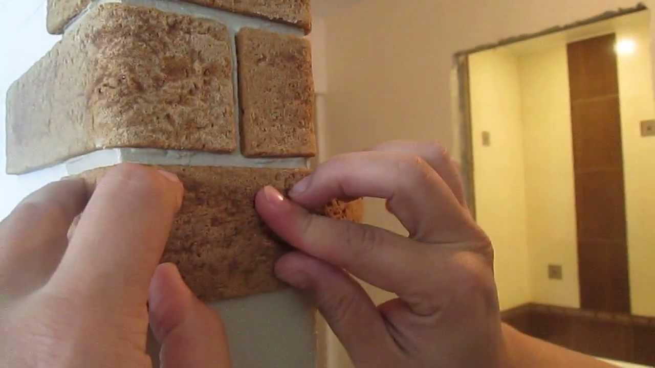Отделка гибким камнем