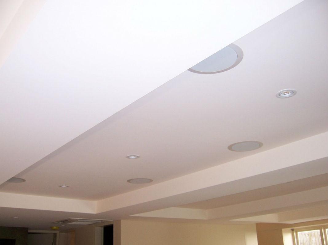 Колонки в гипсокартонном потолке