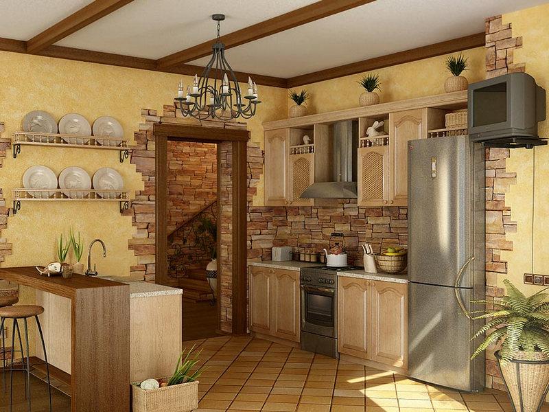 Кухня, также как и другие помещения, требует хорошей отделки