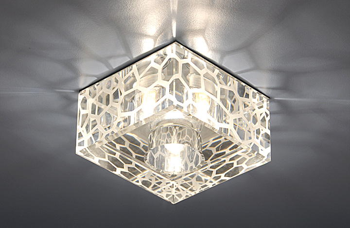 виды светильников для натяжных потолков