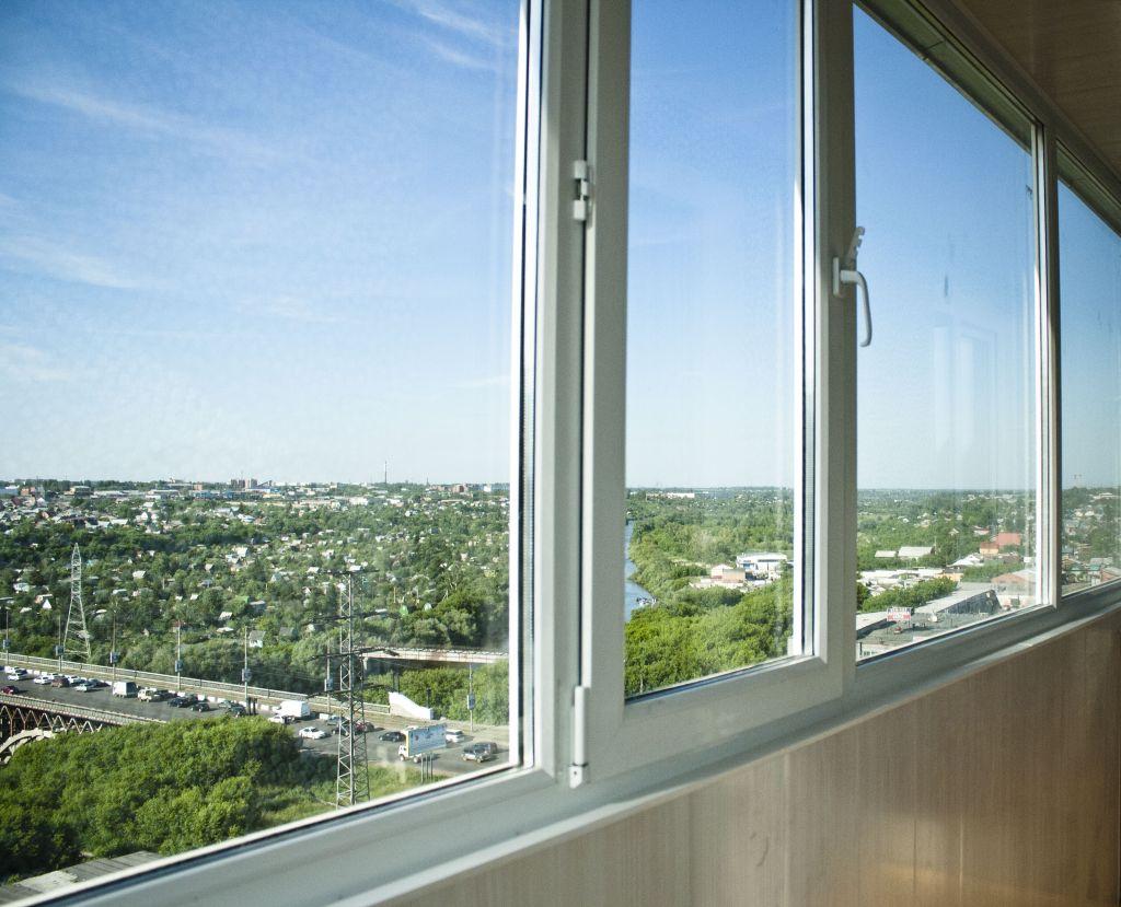 Первое, что нужно сделать - это остеклить балкон