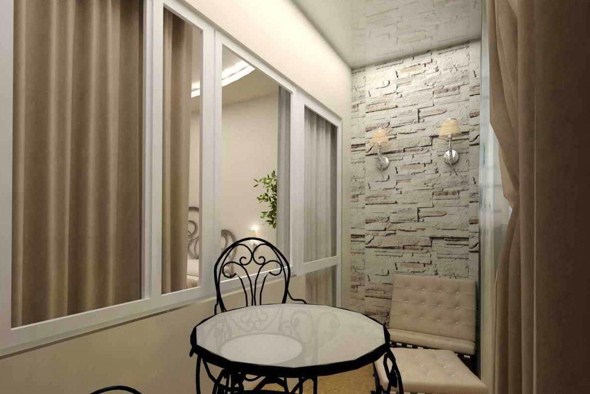 Отделка балкона позволит увеличить площадь жилого помещения