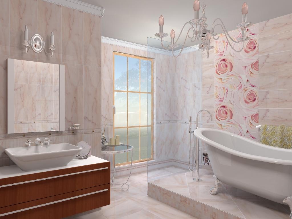 Панели ПВХ можно использовать для отделки ванной