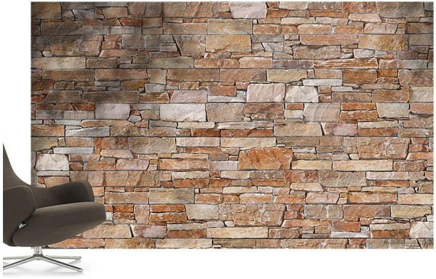 Панели под камень для отделки стен внутри помещения