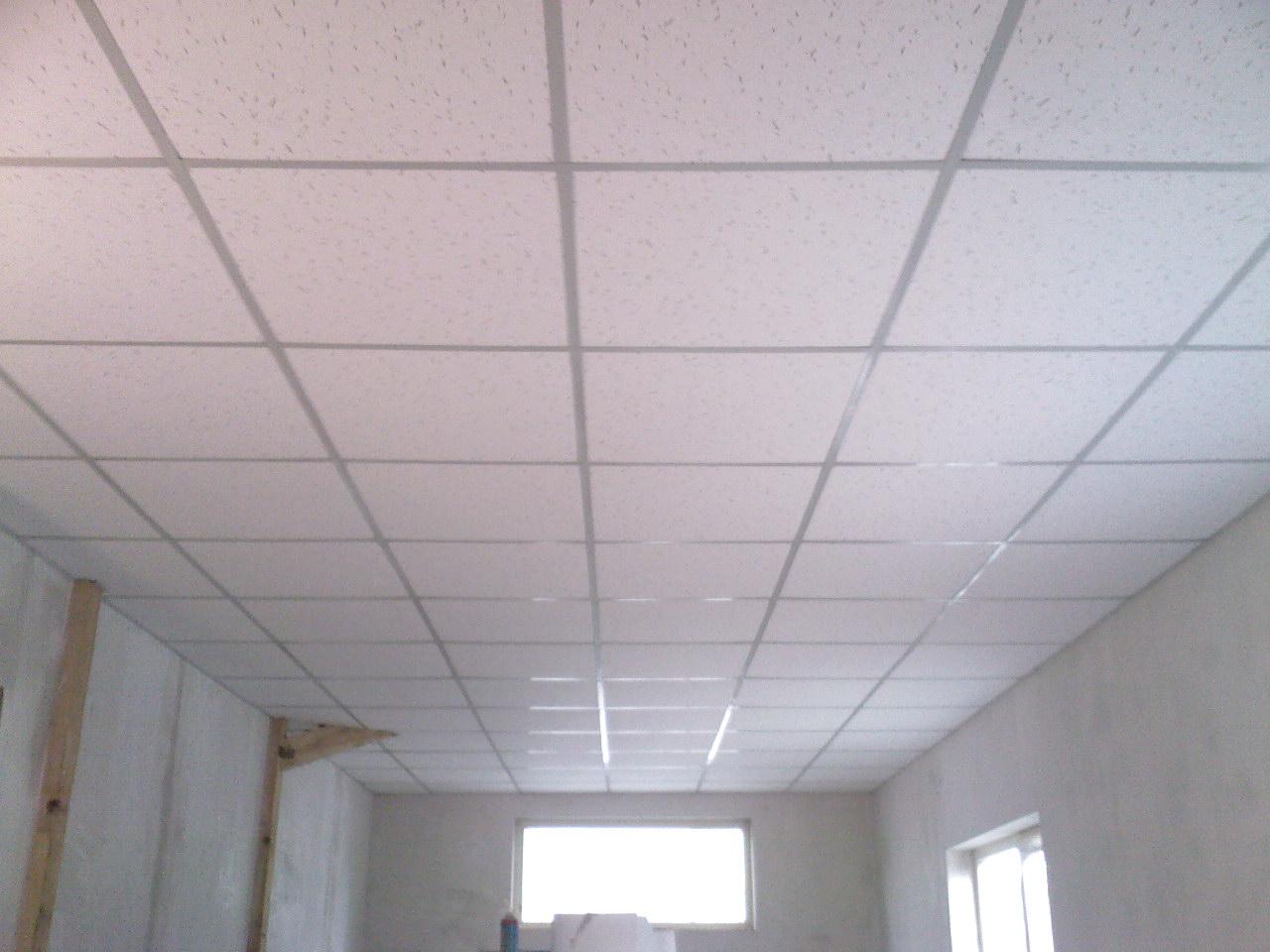 Пластиковая плитка на потолок