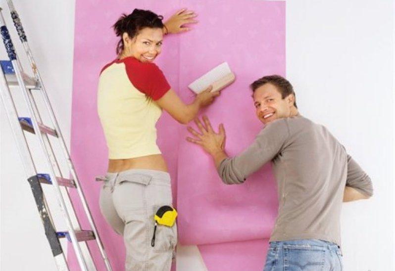Обои - наиболее популярный вид отделки стен