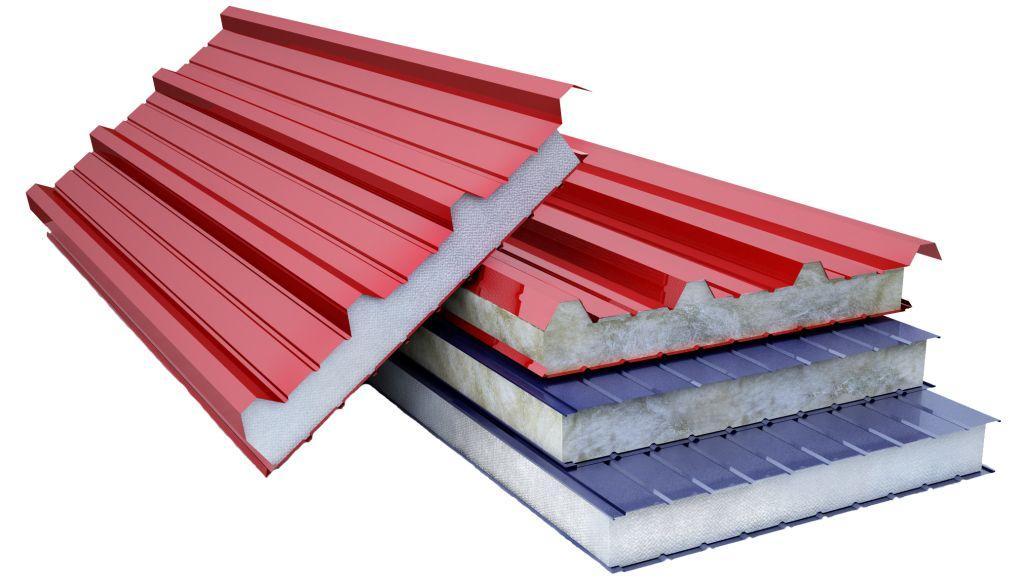 Сендвич панели можно использовать при строительстве крыши и стен