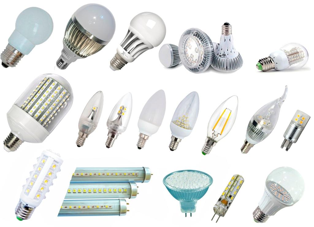 виды светодиодные светильников