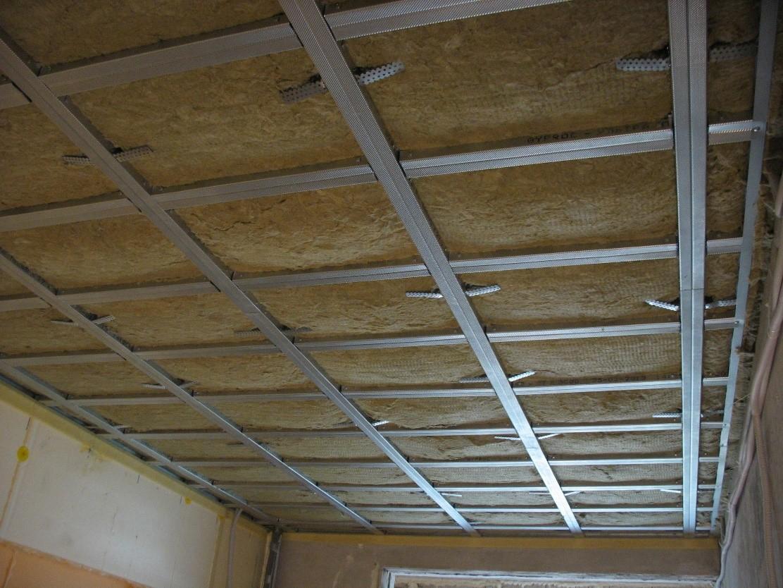 Потолок в доме требует устройства теплоизоляции
