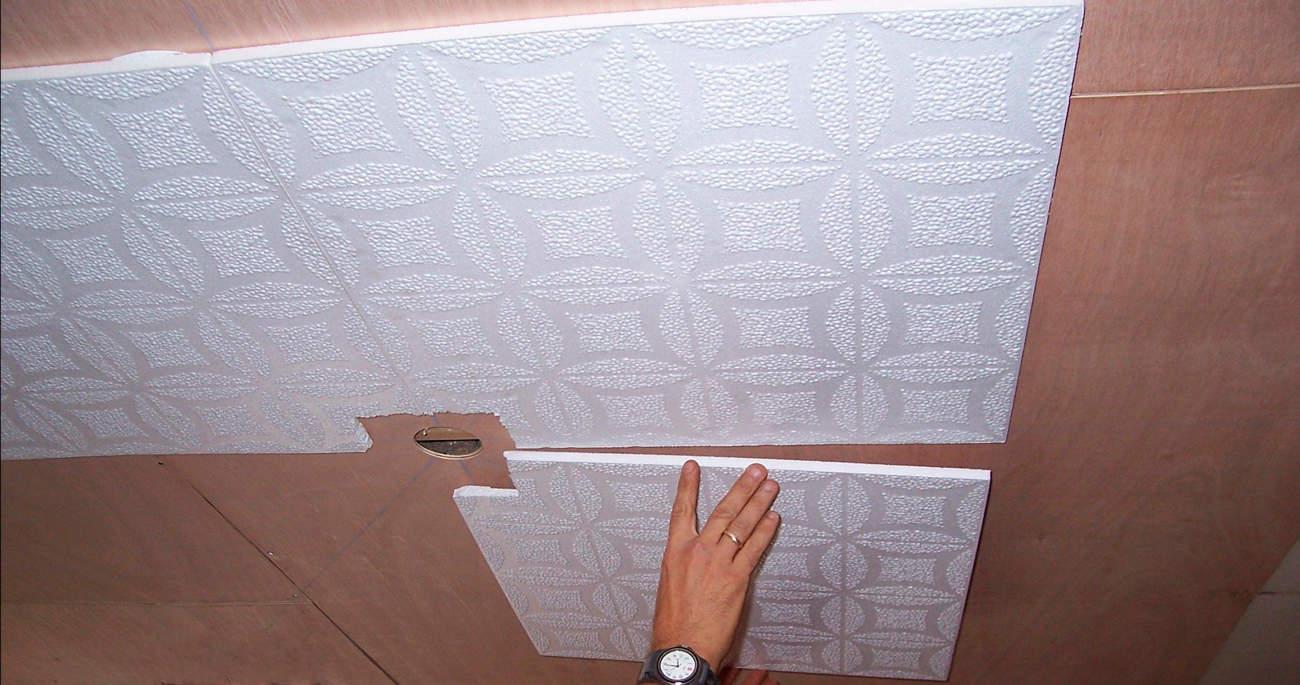 Отделка полимерной плиткой
