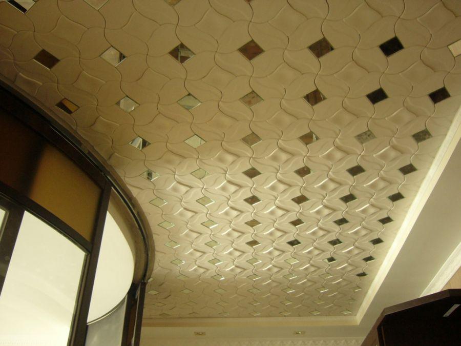 Потолочная полиэстирольная плитка