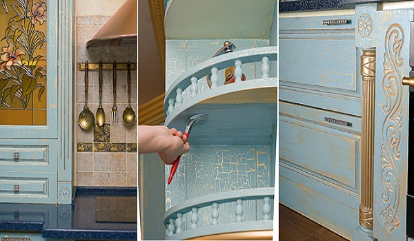 Покраска кухонной мебели своими руками