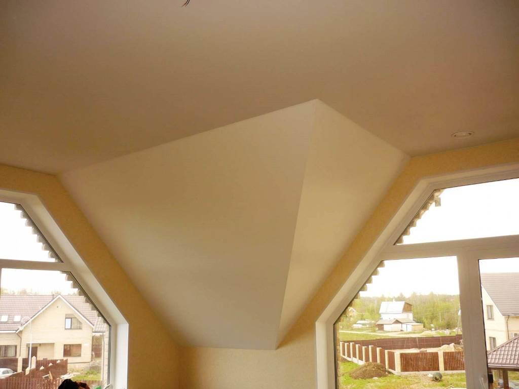 Потолок из гипсокартона в доме