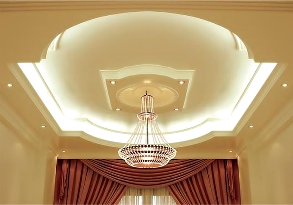Для идеального потолка из гипсокартона необходимо сделать хороший каркас