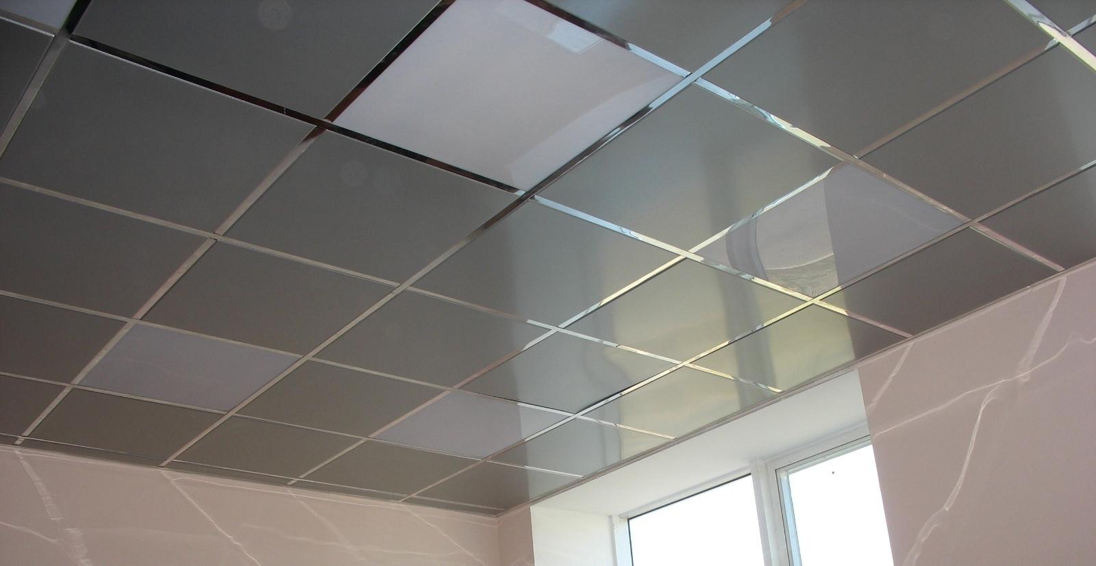 Потолок открытого типа