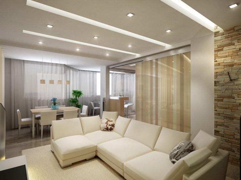 Правильное освещение в комнате