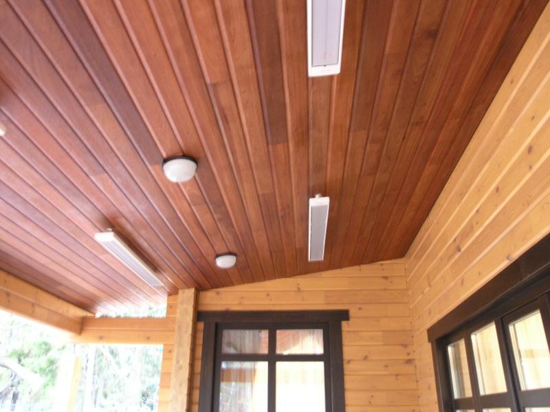 Реечный потолок закрытого типа