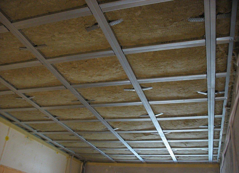 Звукоизоляция под подвесной потолок
