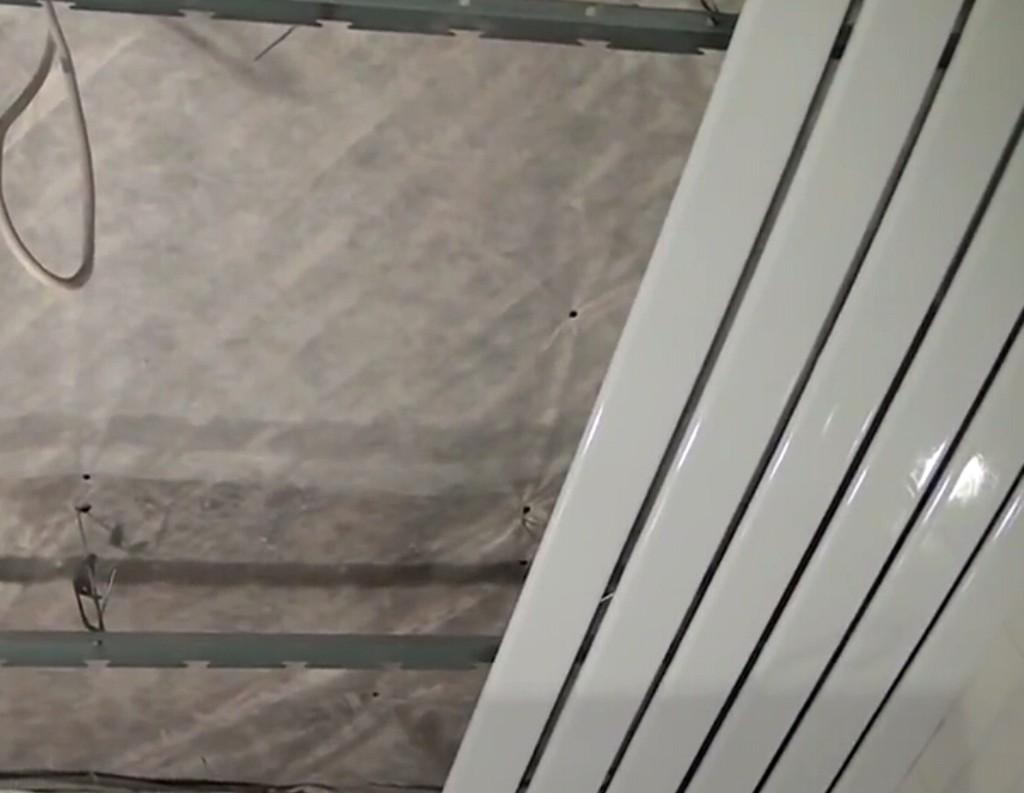 Крепление алюминиевых реек