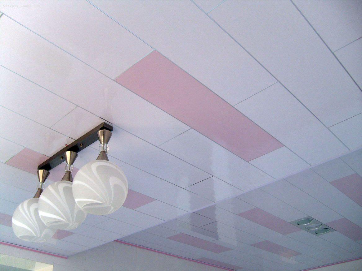 ПВХ панели для потолка имеют ряд преимуществ