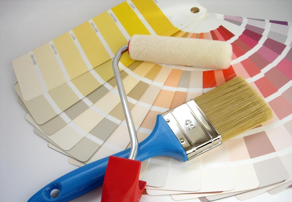 Водно дисперсионный краски наиболее подходят для потолка на кухне