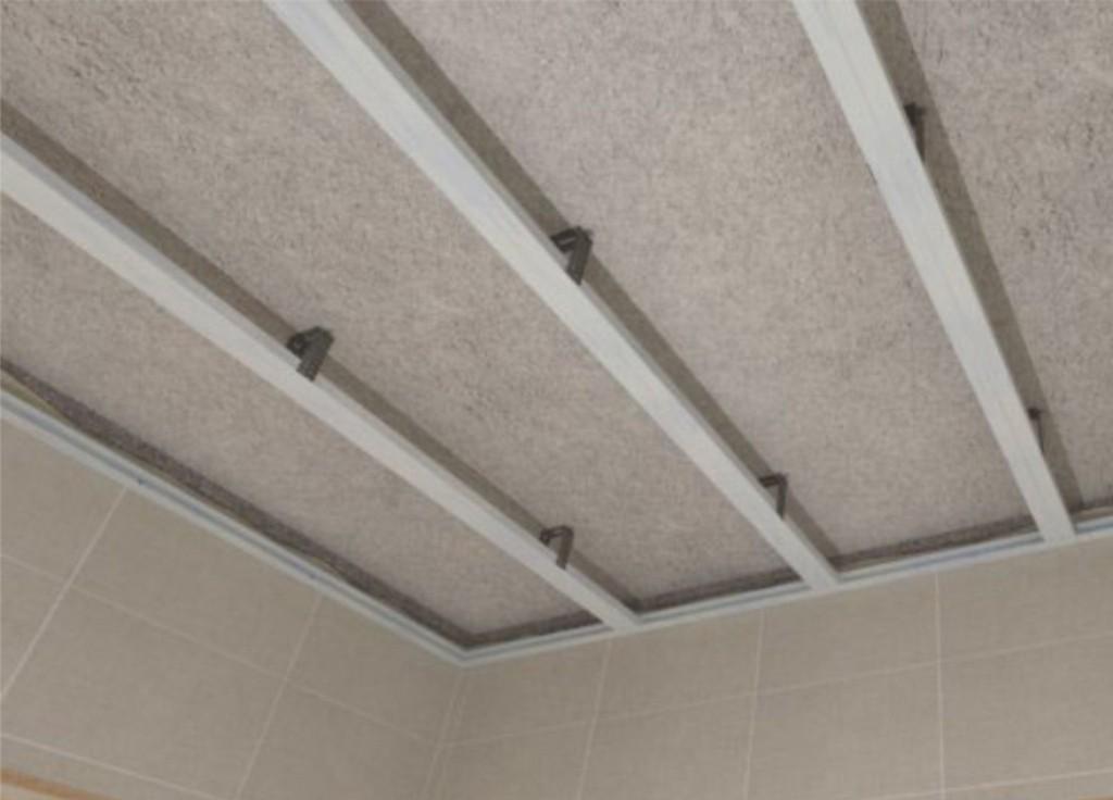 Каркас для потолка из панелей ПВХ