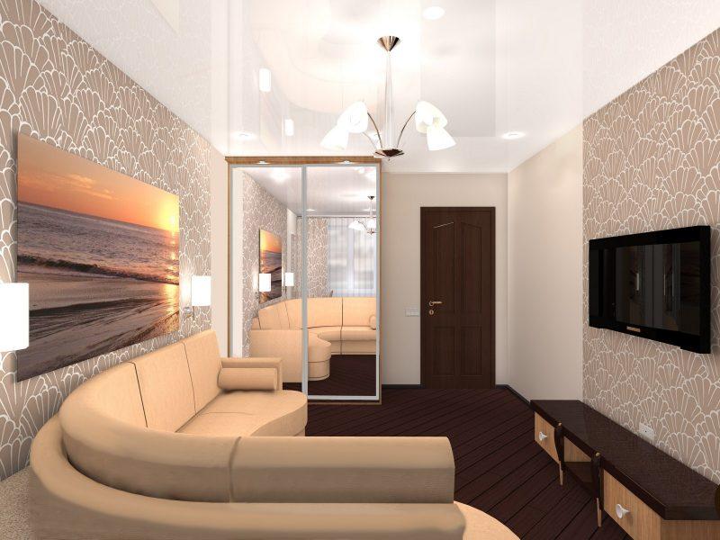 что сначала обои или натяжной потолок