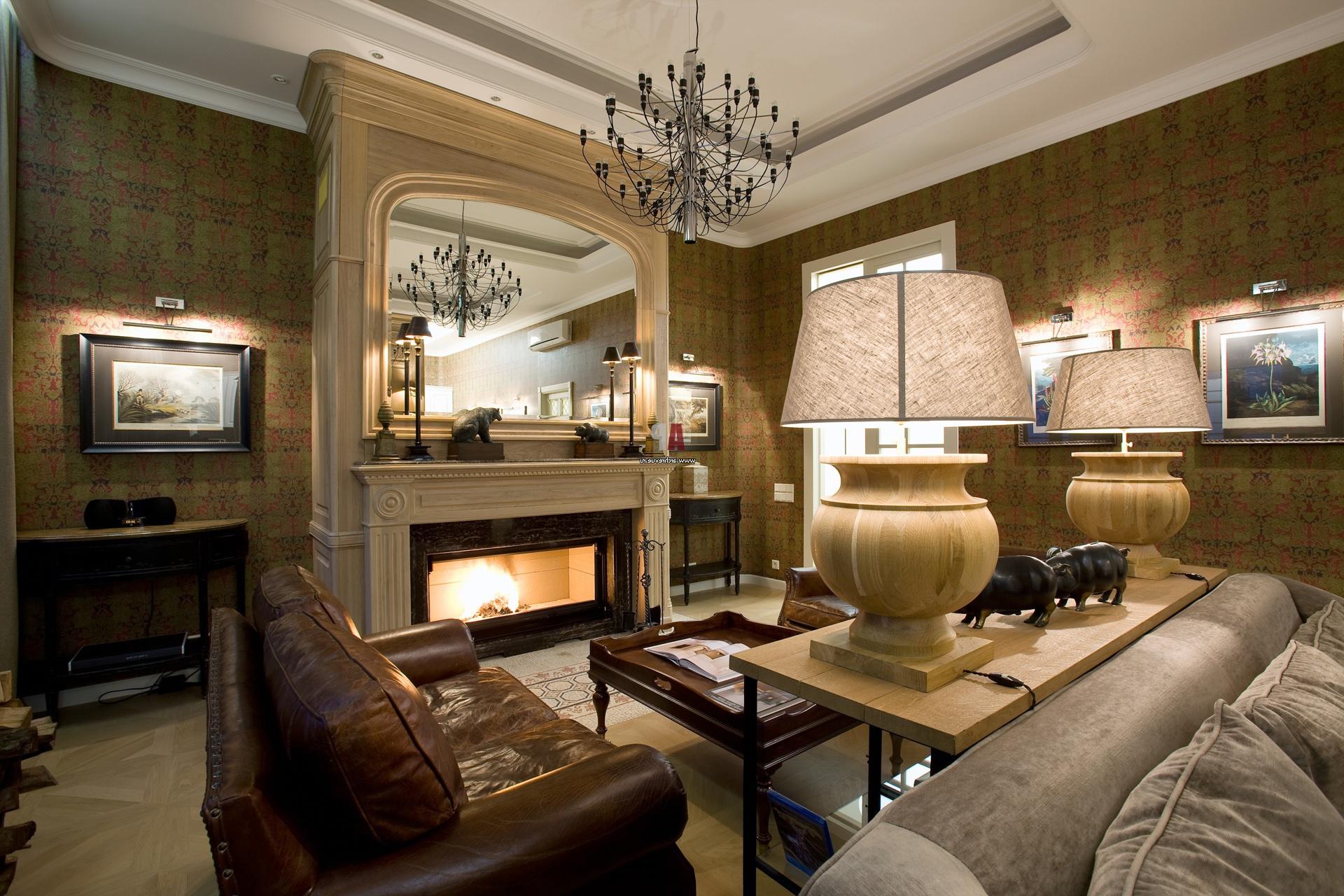 Каждый светильник в стиле модерн выполняет свою функцию и освещает необходимый участок в комнате