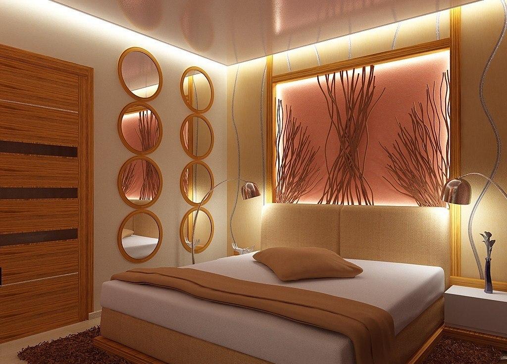 Для освещения низкого потолка хорошо подойдет подсветка