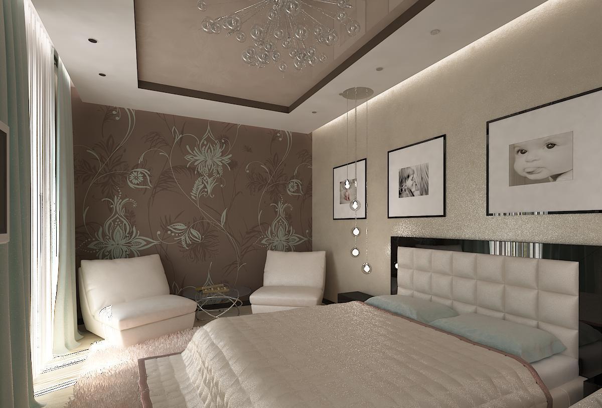Подсветка по периметру спальни