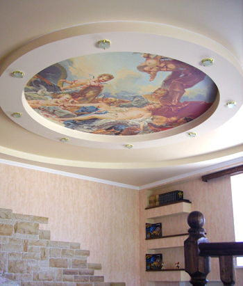 фрески на потолок