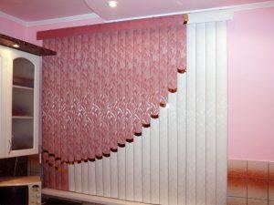 как замеряют жалюзи под шторы