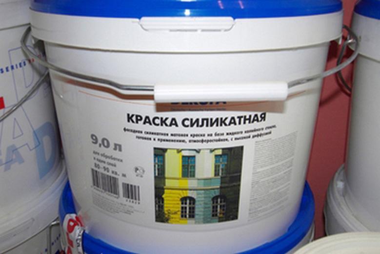 Силикатная краска для ванной комнаты