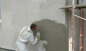как отштукатурить фасад