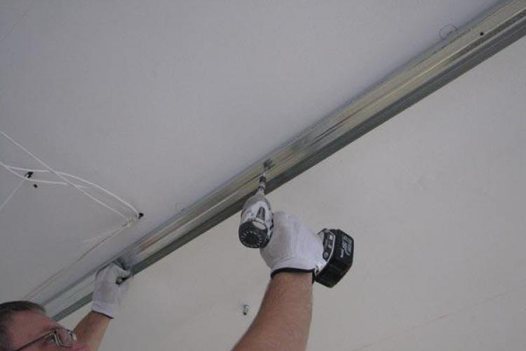 гипсоволоконный потолок направляющие